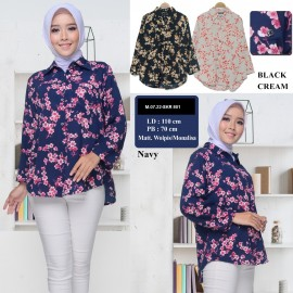 BLOUSE SKR 801 FLOWER